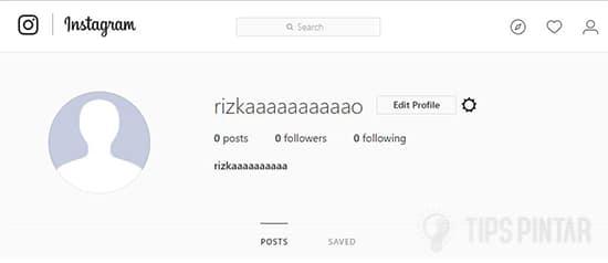 Akun Instagram Baru