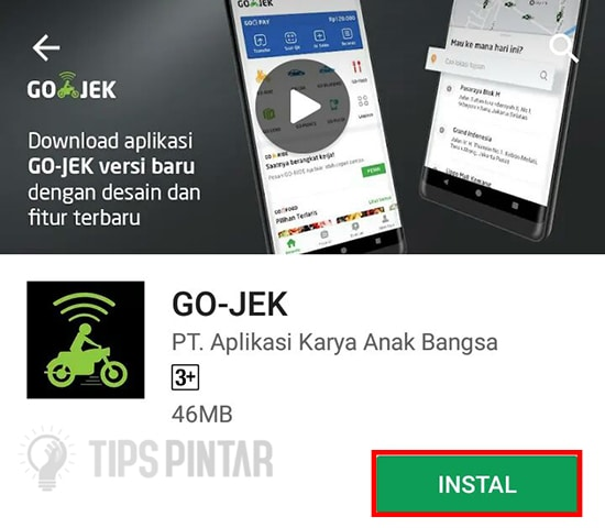Download Aplikasi Go-Jek