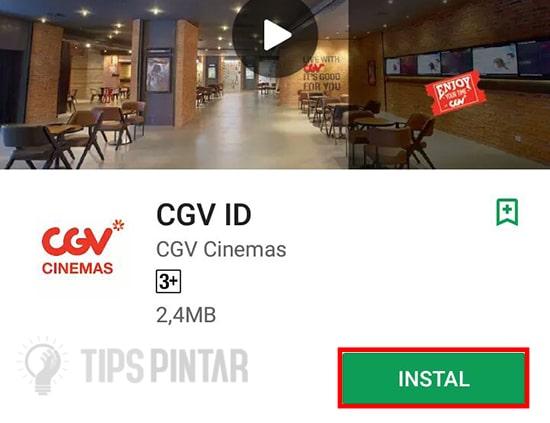 Download Aplikasi CGV