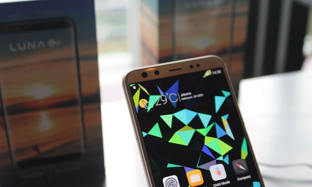 Luna G8, Smartphone Android dengan 4 Kamera! 7
