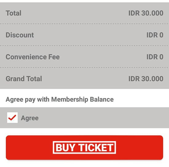 Pilih Buy Ticket
