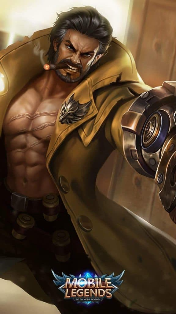Wallpaper Mobile Legends Roger