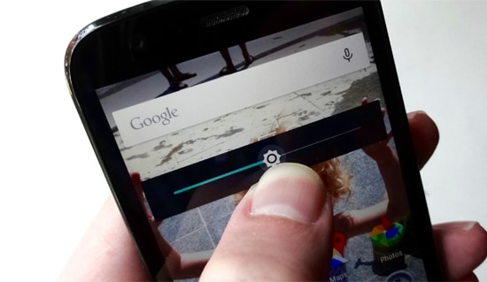 Turunkan Brightness Layar Smartphone