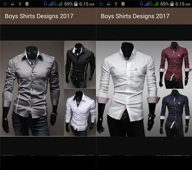 Aplikasi Boys Shirts Designs
