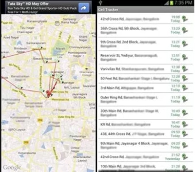 Aplikasi Cell Tracker