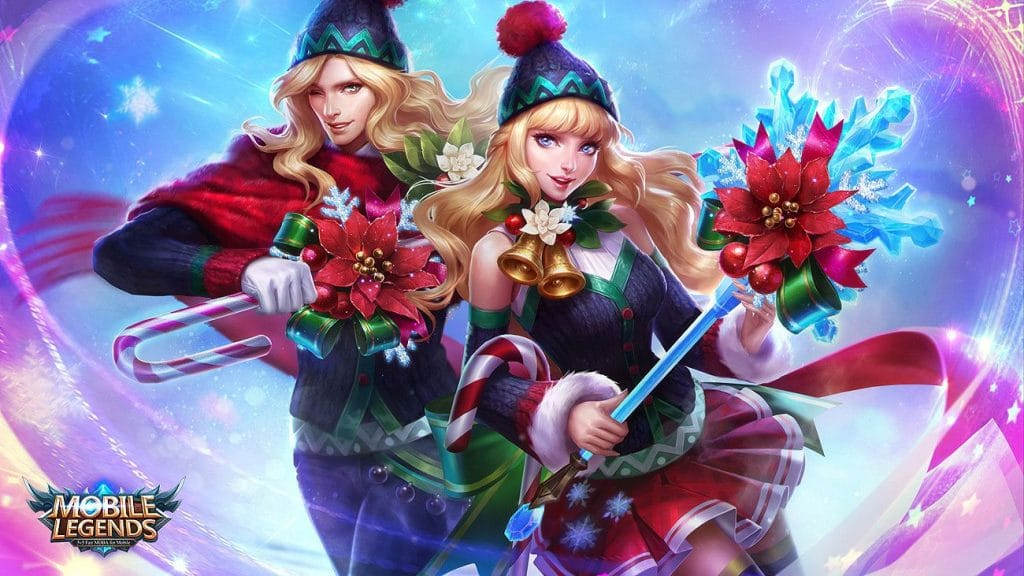 Wallpaper Lancelot Odette Mobile Legends