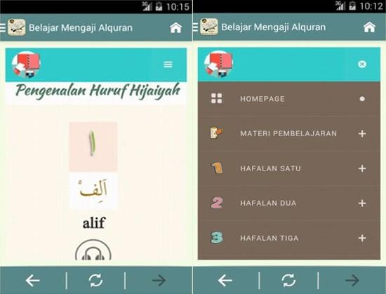 Belajar Mengaji Al-Qur'an