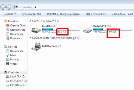 Cara Mempartisi Hard Disk di Komputer dengan Mudah, Tanpa Software Tambahan 8