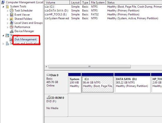 Cara Mempartisi Hard Disk di Komputer dengan Mudah, Tanpa Software Tambahan 10