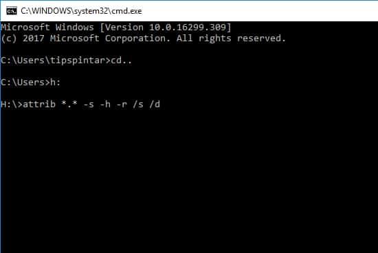 Cara Mengembalikan File yang Terhapus di Flashdisk (100% Berhasil) 13