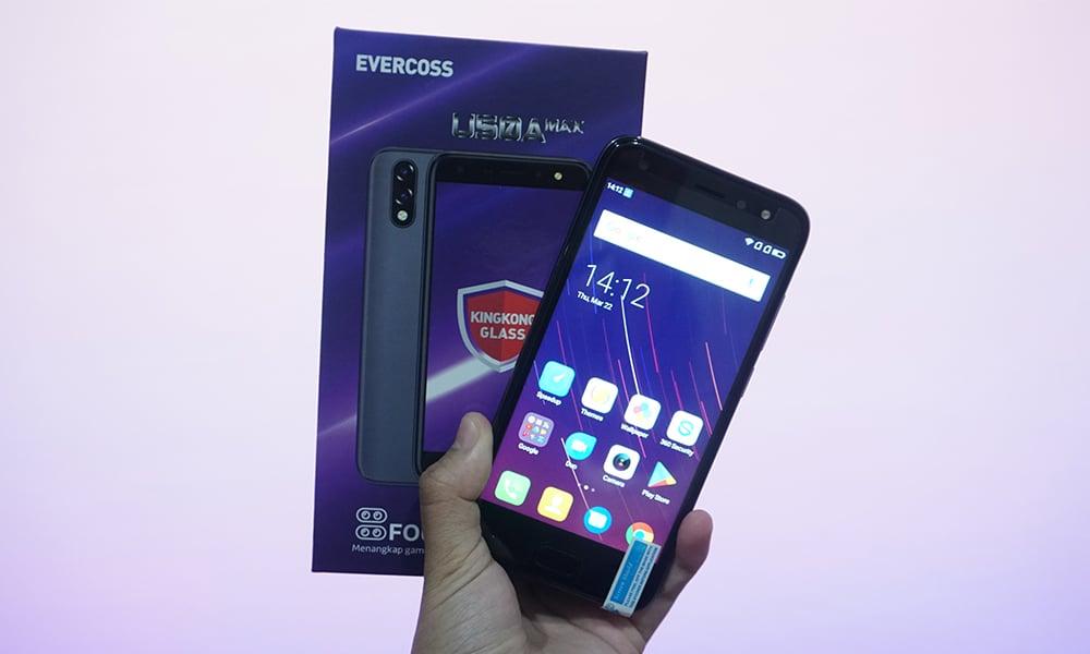 EVERCOSS U50A Max Smartphone Mungil dengan 4 Kamera! 6