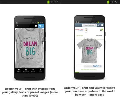 Aplikasi Design & Get Your T-Shirt