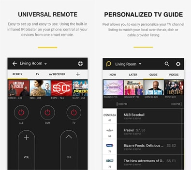 Aplikasi Peel Smart Remote TV Guide