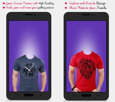 Aplikasi Man T-shirt Photo Maker