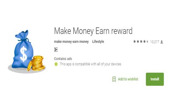 Aplikasi make money earn rewards