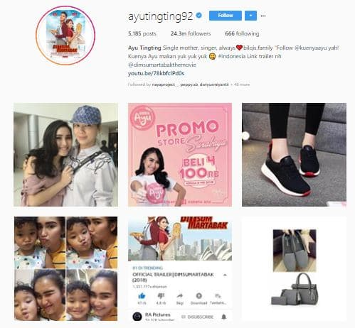 10 Daftar Harga Endorse Artis Indonesia Paling Mahal 2018 9