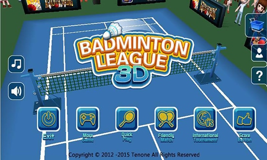 Badminton 3D - SuperCreative