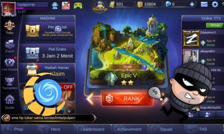 Cheat Skin Mobile Legends (Unlock All Skin) Terbaru 2019 13