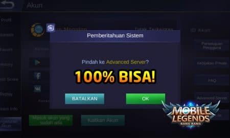 Cara Masuk Advanced Server Mobile Legends (100% Bisa) 20