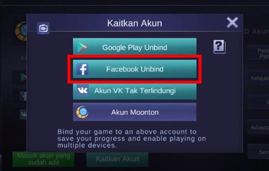 Facebook Berhasil Terhubung
