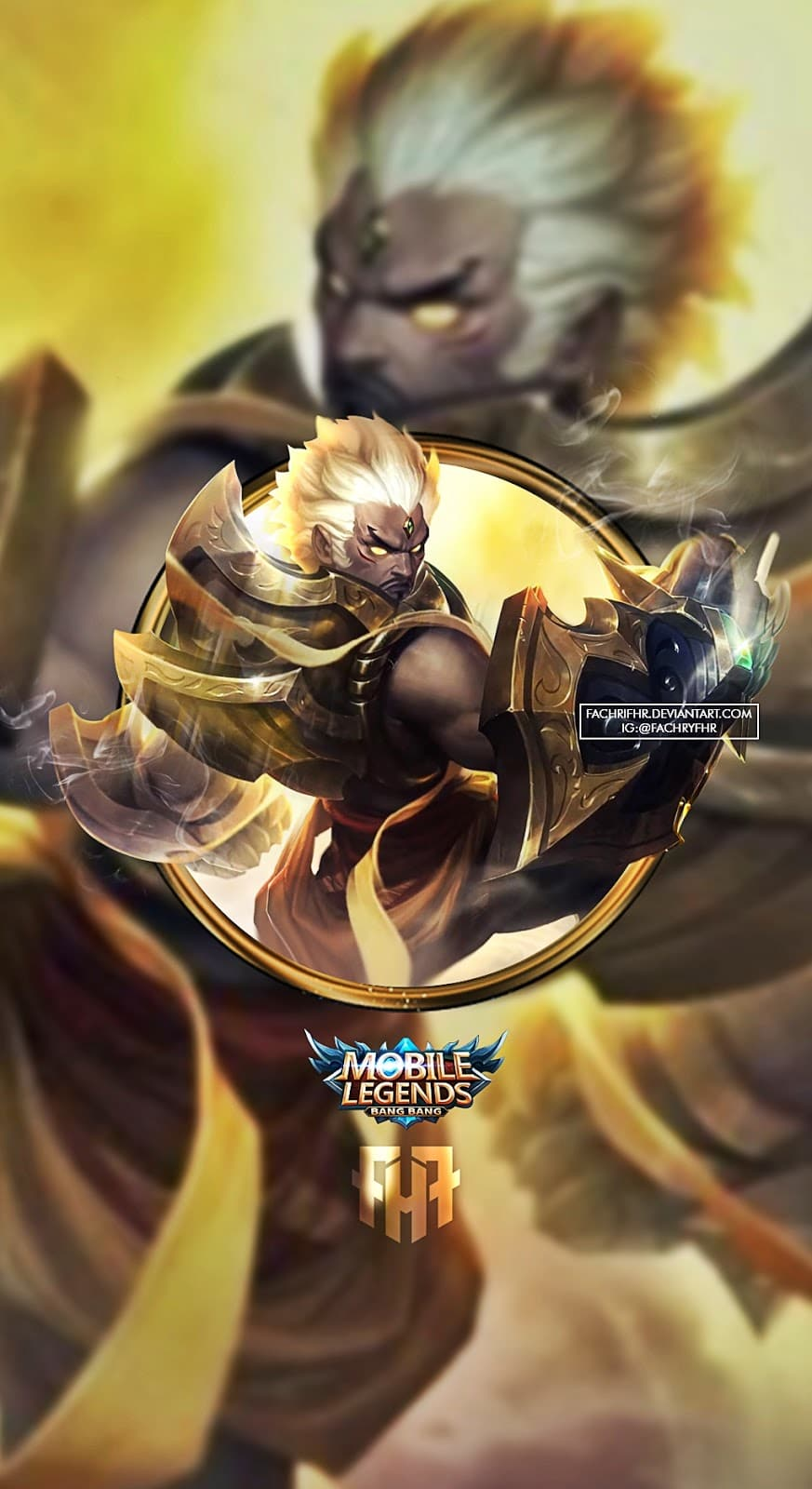 Wallpaper Gatotkaca Mobile Legends