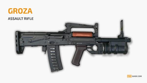 Groza - Senjata Paling Sakit PUBG
