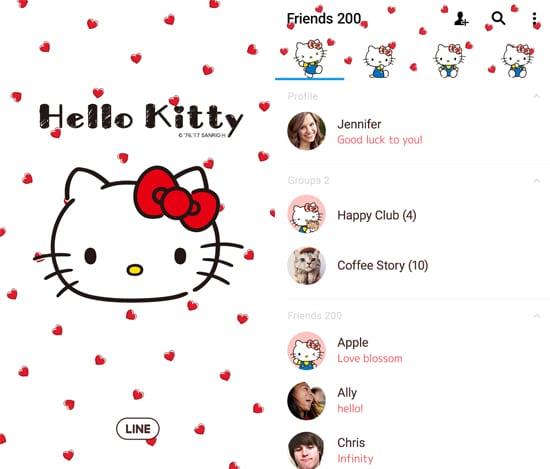 Hello Kitty Heart & Check