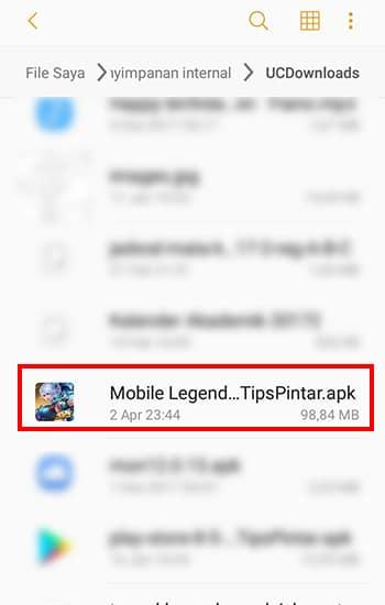 mobile legends kuroyama mod apk