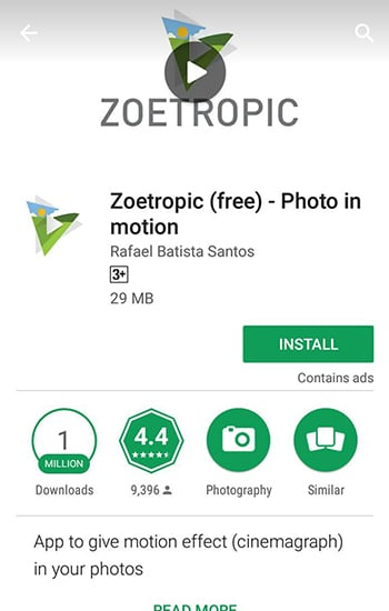 Install Zeotropic