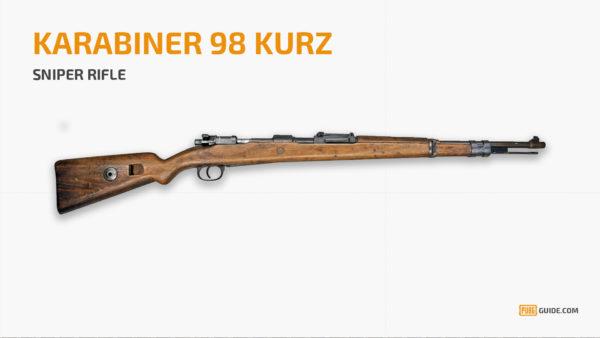 KAR98K - Senjata Paling Sakit PUBG