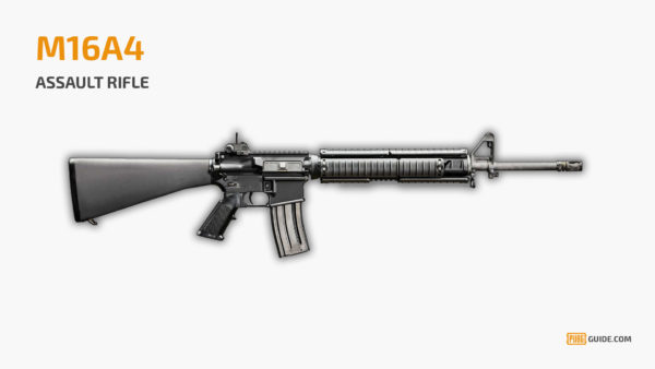 M16A4 - Senjata Paling Sakit PUBG