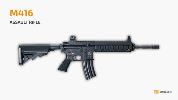 M416 - Senjata Paling Sakit PUBG