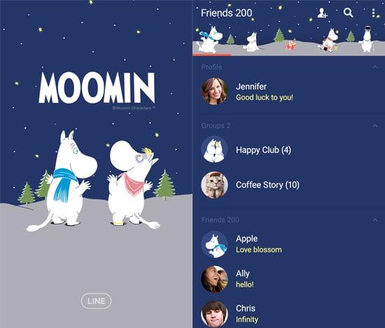Moomin Winter Night