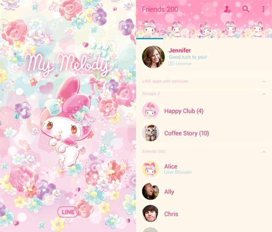 My Melody-Florarium