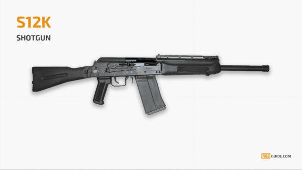 S12K -  Senjata Paling Sakit PUBG