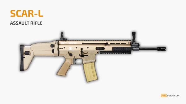 SCAR-L - Senjata Paling Sakit PUBG