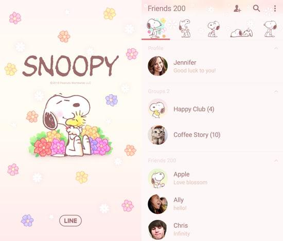 Snoopy's Floral Fun