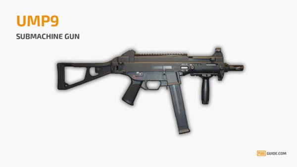 UMP9 - Senjata Paling Sakit PUBG