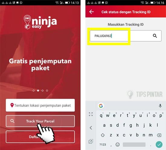 Cara Cek Nomor Resi Ninja Xpress Hanya Lewat Smartphone 3