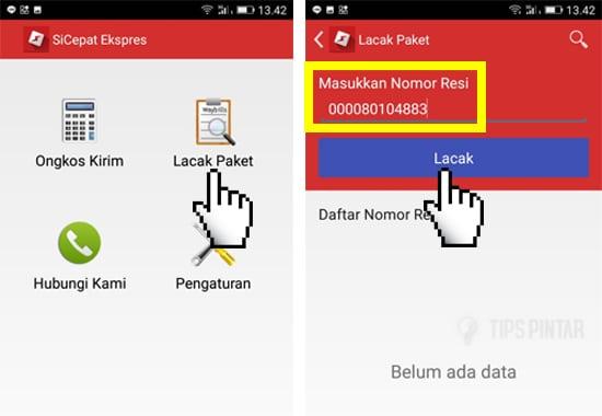 Cara Cek Nomor Resi SiCepat Hanya Lewat Smartphone 4