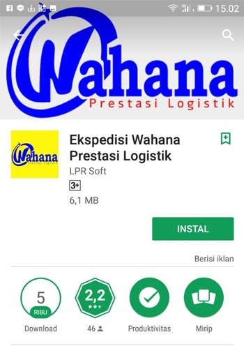 Ekspedisi Wahana Prestatsi Logistik