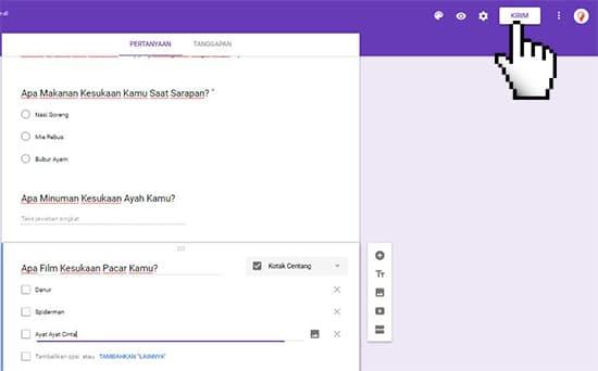 Cara Membuat Google Formulir (Formulir Online) Paling Mudah 14