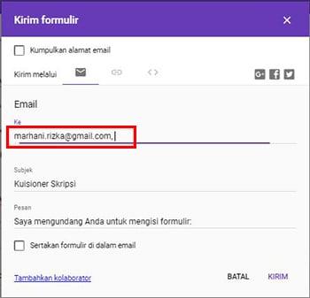 Cara Membuat Google Formulir (Formulir Online) Paling Mudah 15