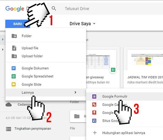 Cara Membuat Google Formulir (Formulir Online) Paling Mudah 6