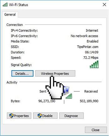 Cara Mengetahui Password WiFi yang Sudah Terhubung 10