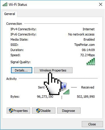 Cara Mengetahui Password WiFi yang Sudah Terhubung di Laptop 9