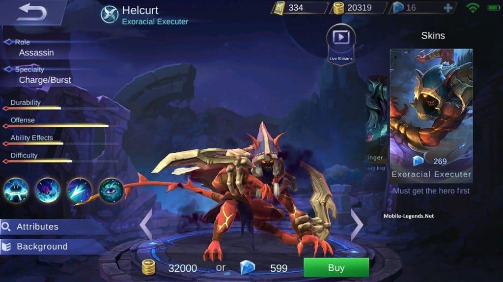 Helcurt - Hero Mobile Legends