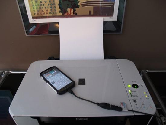Sambungkan Android dengan Printer Menggunakan USB OTG