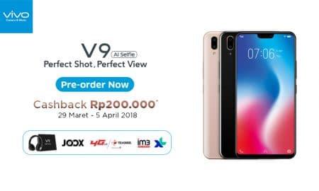 Ikutan Pre-Order Vivo V9 Dapat Banyak Bonus Spesial! 8