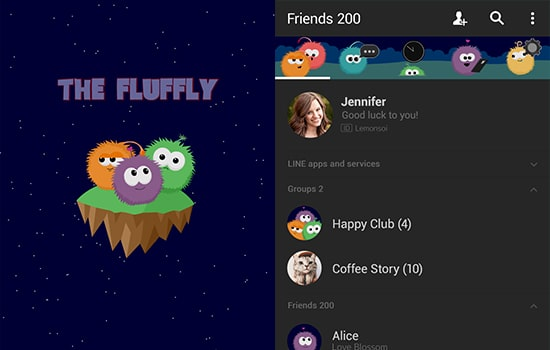 The Fluffly: Night Sky Adventure